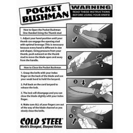 Cold Steel Pocket Bushman
