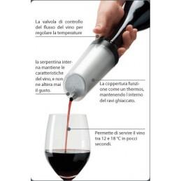 Raffreddatore per vino istantaneo