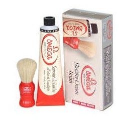 Omega soap set + brush