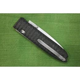 Coltello Lion Steel - mod. DAGHETTA manico Fibra di Carbonio