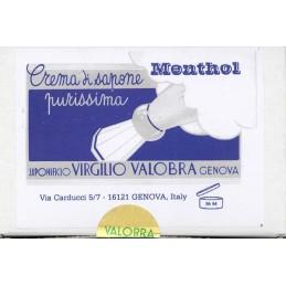 crema da barba sapone valobra mentolo 150 grammi