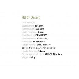Fantoni - HB01 Desert
