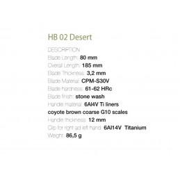 Fantoni - HB02 Desert