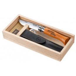 Opinel N ° 8 c / wood box