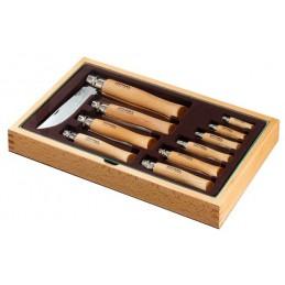Opinel collezione 10 pz. Inox