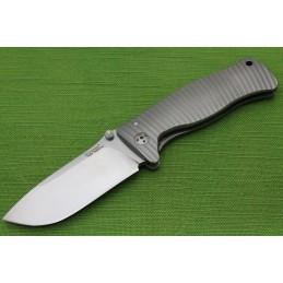 Coltello Lion Steel SR1 Titanio Grigio