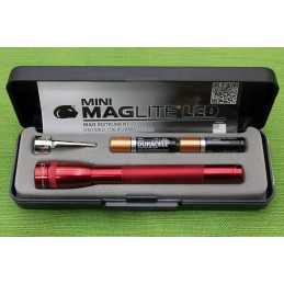 Flashlight Maglite 2AAA Red...