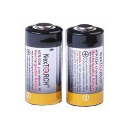 Nextorch - pair of 2 NTR123A batteries