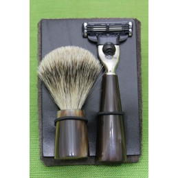 Beard Set Bovine Horn Travel