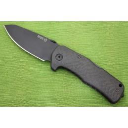 Coltello Lion Steel TM1 Carbonio Black