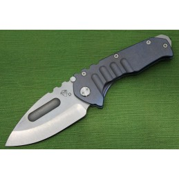 Coltello Medford Praetorian Ti Tumbled Drop Point
