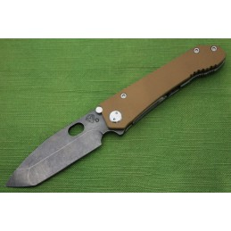 Coltello Medford 187 DPT G10 Coyote Drop Point Tanto