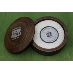 Ciotola in legno con Sapone da Barba Lea