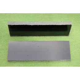 Placchette Micarta Canvas Black per coltelli
