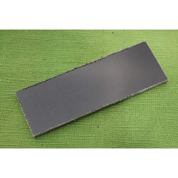 Placchette Micarta Canvas Black