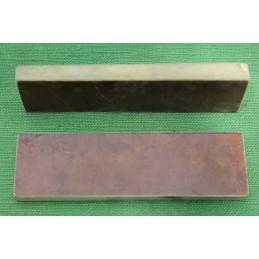 Placchette Micarta Canvas Brown per coltelli