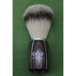 Pennello da barba Omega Tasso Sintetico 46751 legno multistrato