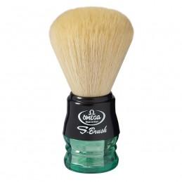 Pennello da barba Omega S-Brush S10077 setola sintetica
