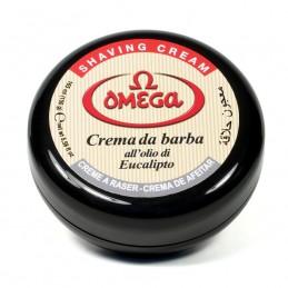 Crema da barba Omega in ciotola