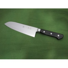 COLTELLO KIYA KAMAGATA SUPER GOLD II SANTOKU 175MM