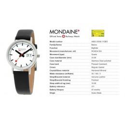Orologio Mondaine - Classic Big Date Ladies