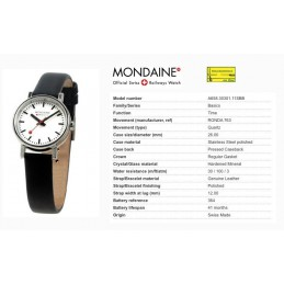 Orologio Mondaine - Evo Ladies size