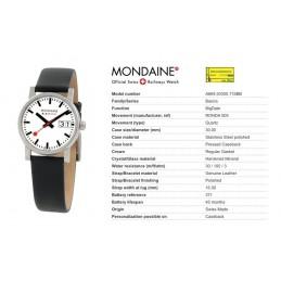 Orologio Mondaine - Evo Big Date Ladies