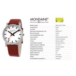 Orologio Mondaine - Quartz Evo