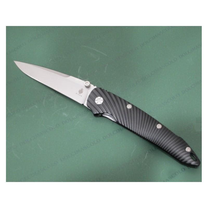 Kizer Silver Aluminum Black