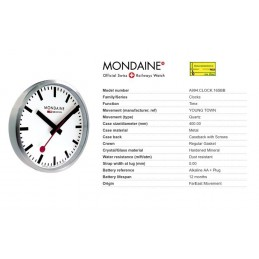 Orologio Mondaine - Wall Clock Large
