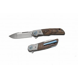 MKM Clap Santos Wood & Titanium Knife
