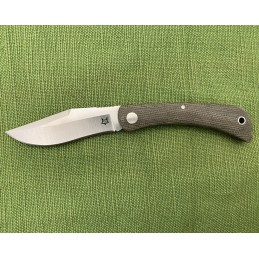 Fox Green Micarta Libar Knife